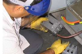 Electrical Work on Office Cubicles